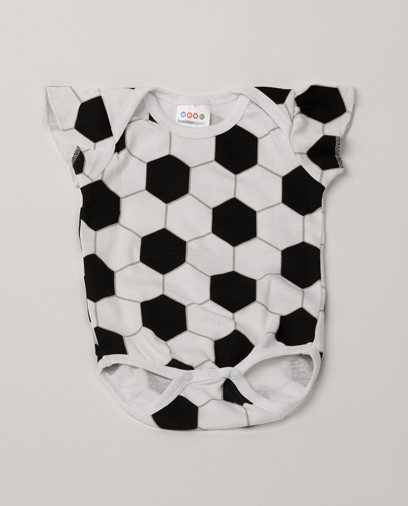 Soccer Ruffle Sleeve Outfit (PRE-ORDER) by Bambino Sport