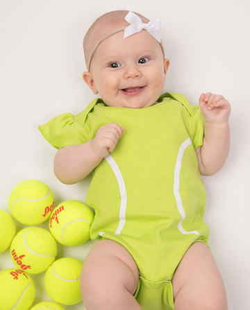 Tennis Ruffle Sleeve Outfit (PRE-ORDER) by Bambino Sport