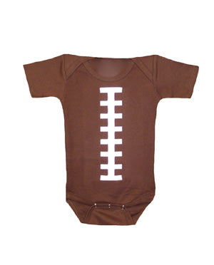 Football Short Sleeve Football Outfit. Large.  White & Brown - bambino sport