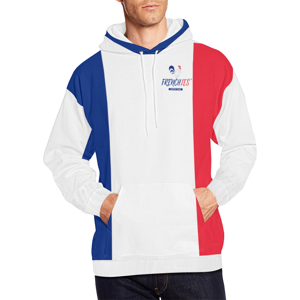 ... HOMME BLEU BLANC ROUGE - FRENCHIES SUPPORT TEAM (Taill. sweat à capuche  supporter ... b2630bb60a4b