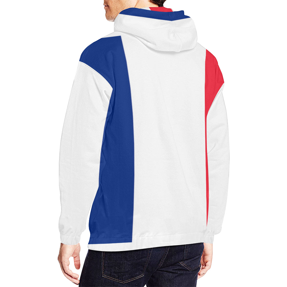 ... HOMME BLEU BLANC ROUGE - FRENCHIES SUPPORT TEAM (Taill. sweat à capuche  supporter  sweat à capuche supporter ... 49f4fa61ce06