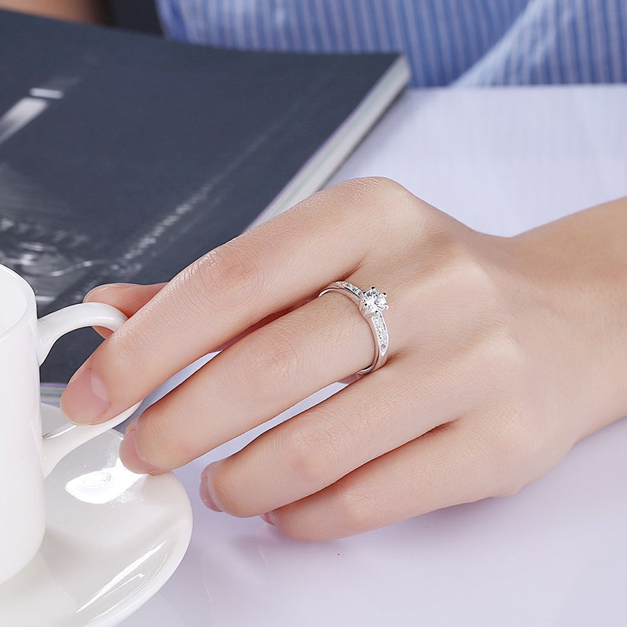 engagement rings cheap but real by Forever Fashion Store