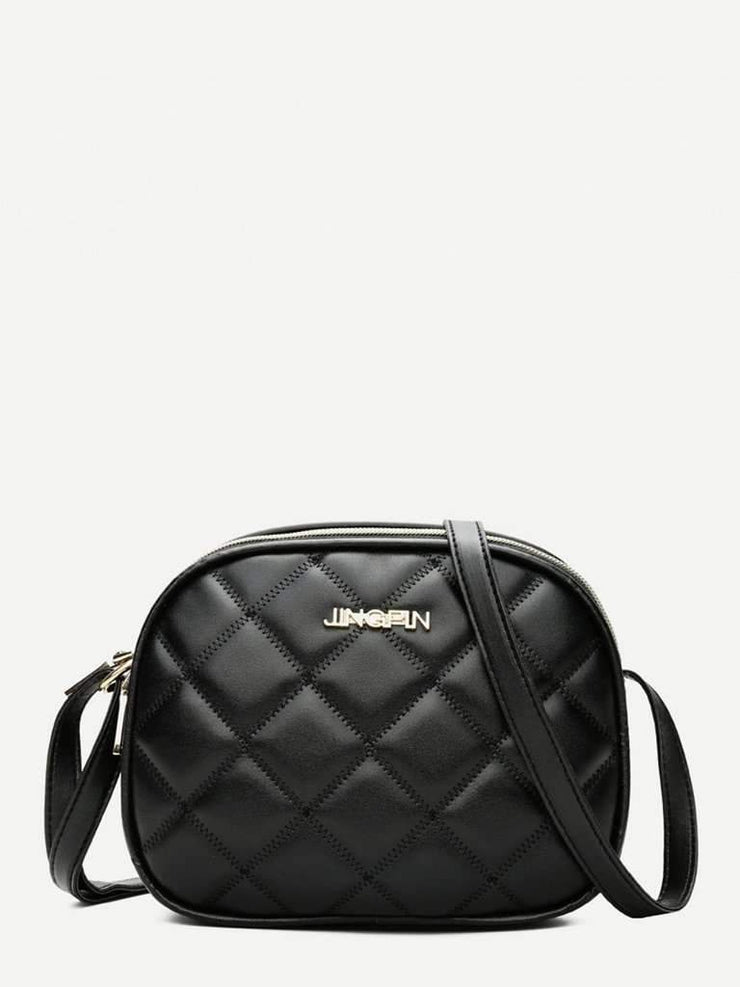 Quilted Detail Crossbody Bag