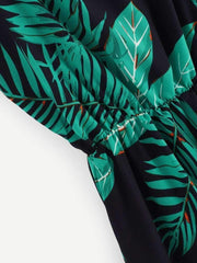 Tropical Print Cami Dress