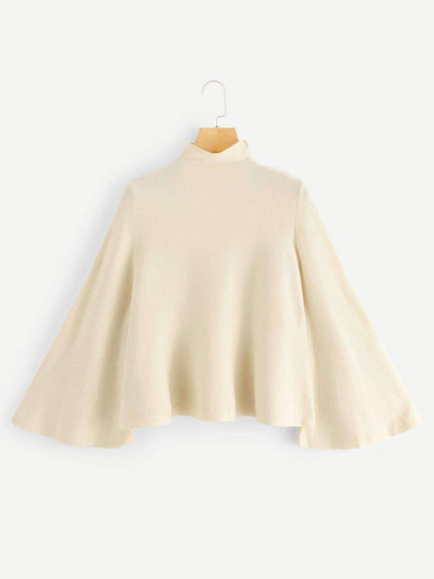 Bell Sleeves Pullover