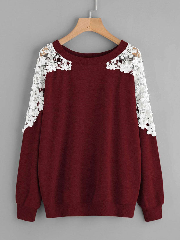Beaded Sweater