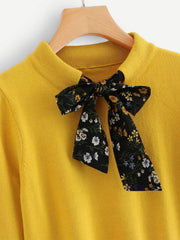 Bow Tie Pullover