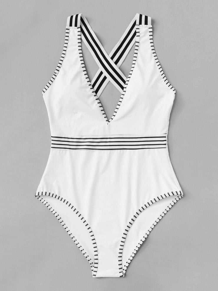 Criss Cross Swimsuit
