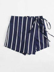 Striped Knot Side Short