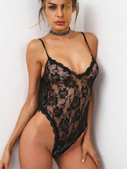 Flower Lace Cami Teddy