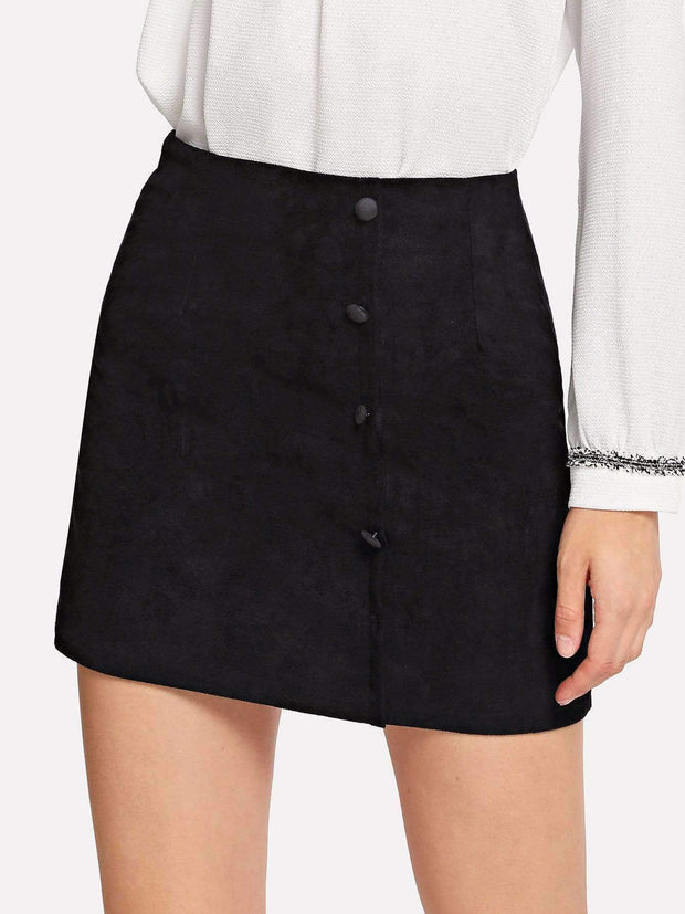 Zip Back Skirt