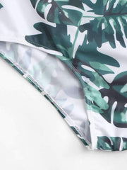 Palm Print Swimsuit