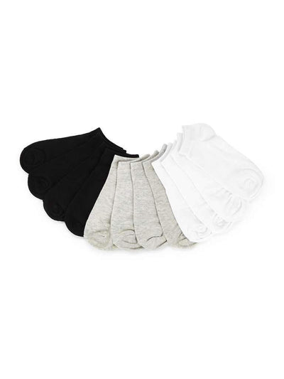 Plain Invisible Socks 6pairs
