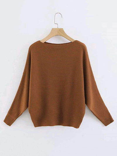 Batwing Sleeves Pullover