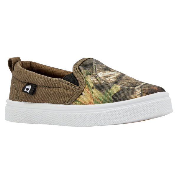 Oomphies Robin x Mossy Oak Boys Slip On Shoe