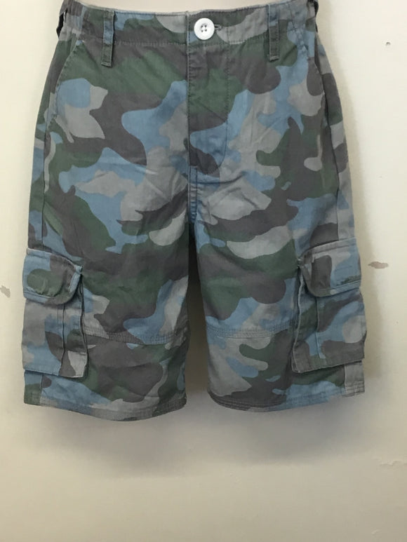 Older Boys Camo Canvas Shorts (8-13 years)
