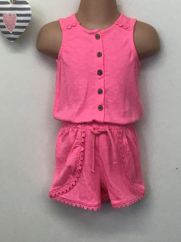 Baby Girl Jersey Playsuit (12-18 months)