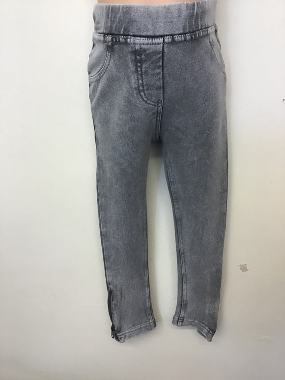 Girls Acid Wash Jeggings (3-8 years)
