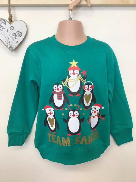 Christmas Sweatshirts (2-6 years)