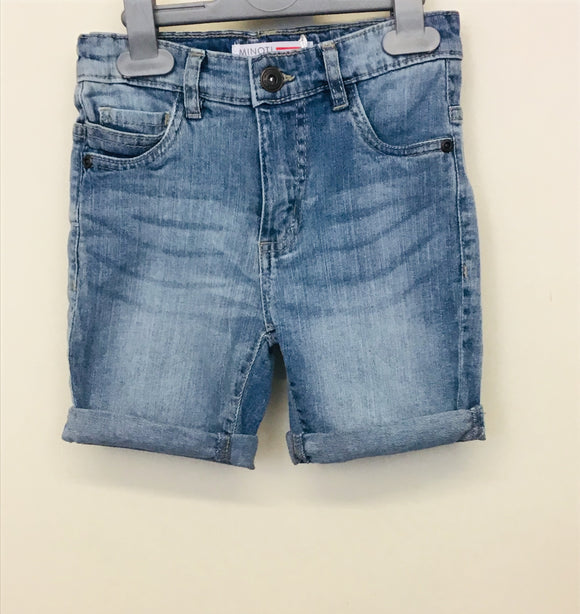 Boys Light Blue Denim Shorts (3-7 years)
