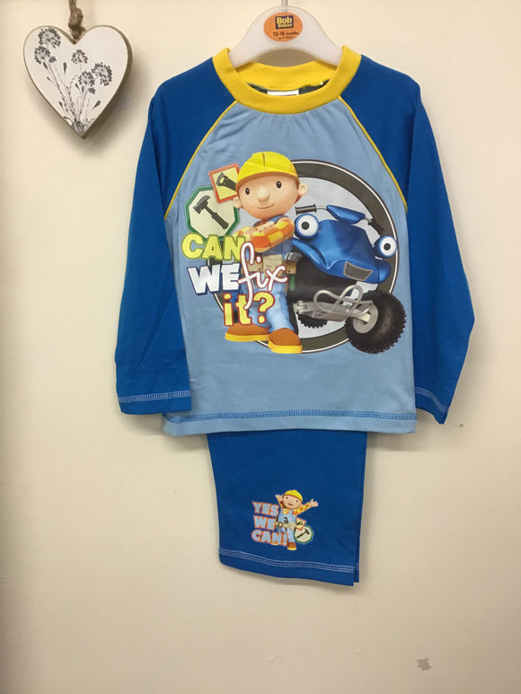 Bob the Builder Boys Toddler Pajamas (12-24 months)