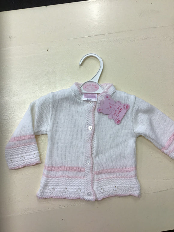 Baby Girls Knitted Cardigan (0-12 months)