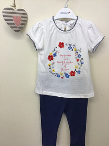 """Happiness"" Logo Top & Jeggings Set (0-12 months)"