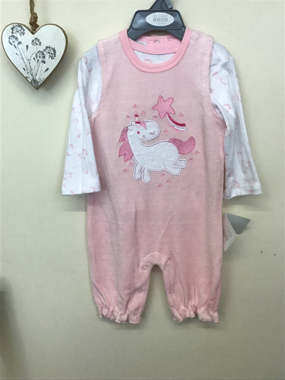 Baby Girl Unicorn 2 Piece Set (NB-6 months)