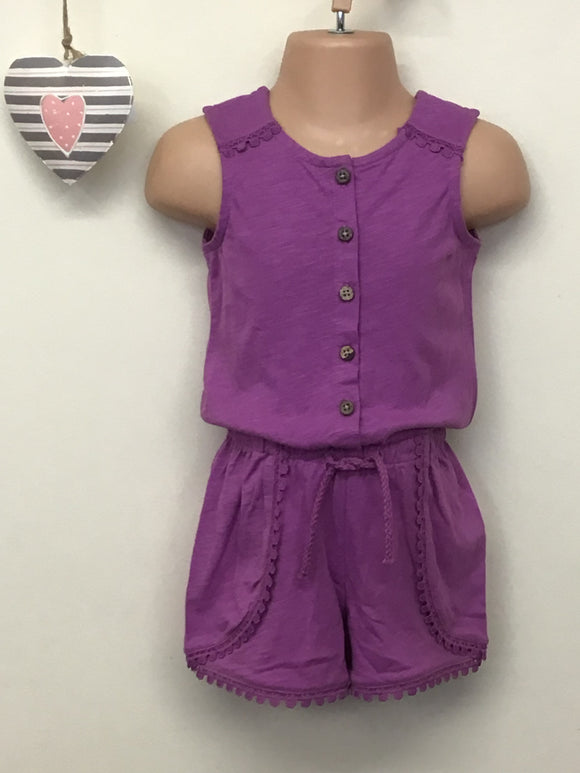 Younger Girls Jersey Playsuit (3 years)