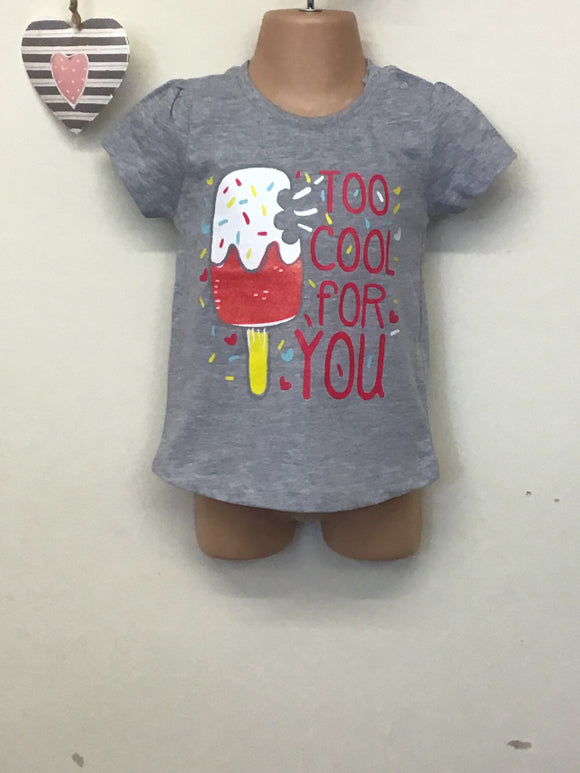 Baby Girls Bright Printed T Shirt (0-24 months)