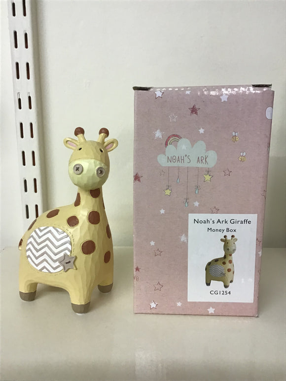 Noahs Ark Giraffe Money Box