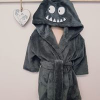 Boys Hooded Bath Robe (12 month-3 years)