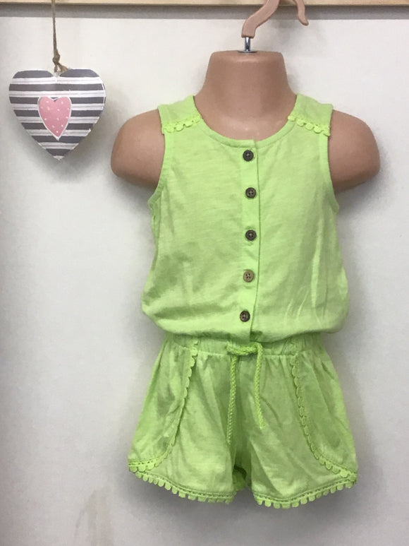 Baby Girl Jersey Playsuit (12 months-3 years)