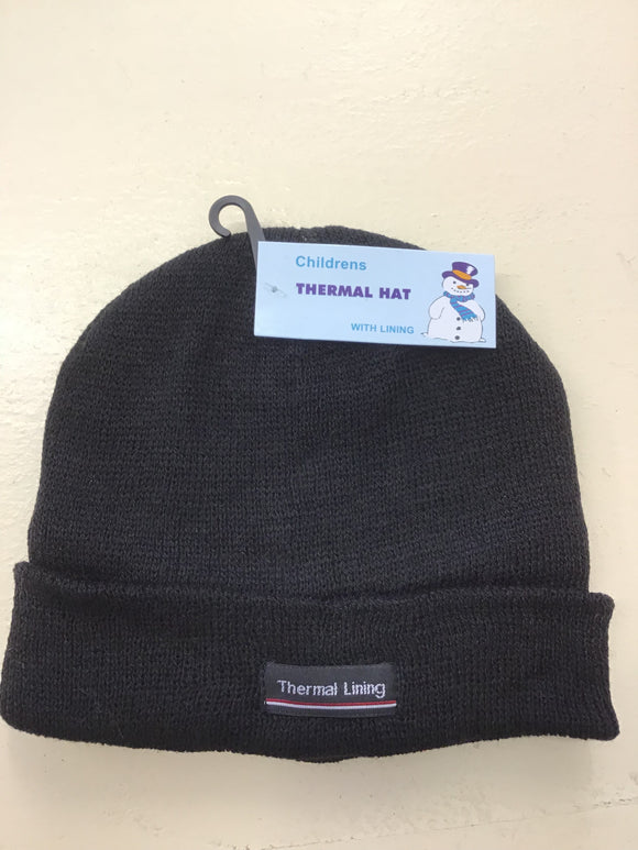 be78cec84fa Children s Thermal Knitted Hat (one size)