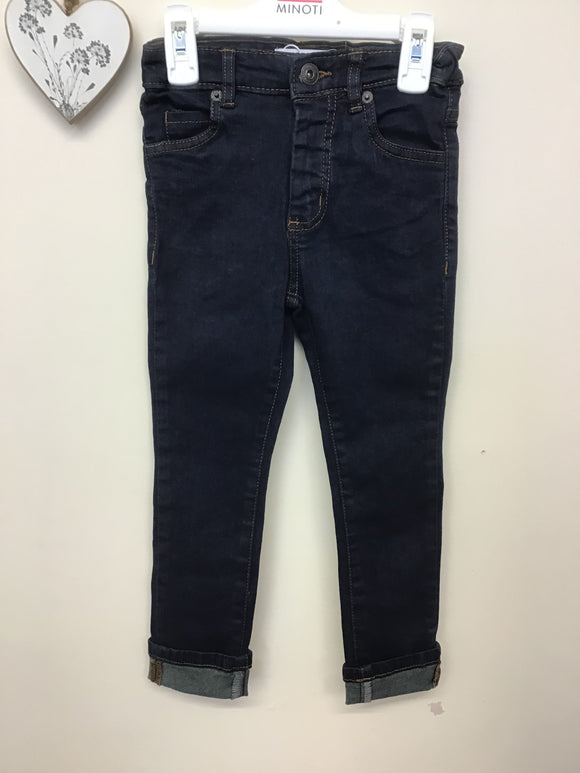 Boys Dark Wash Denim Jeans (3-8 years)