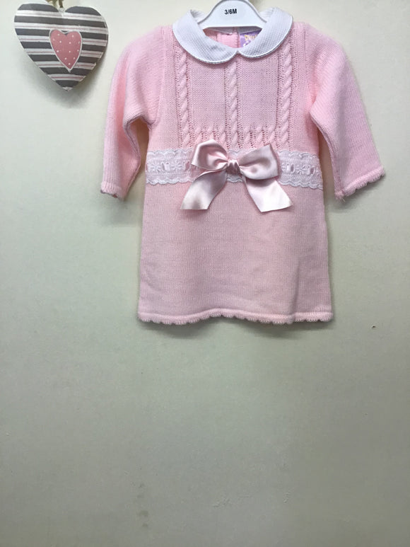 Spanish Style Knitted Dress (0-9 months)