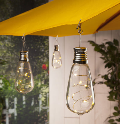Solar Powered Light Bulb