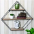 Diamond Wall Shelf