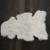 Faux Sheep Skin Accent Rug