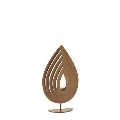 Vapos Gold Metal Tealight Holder