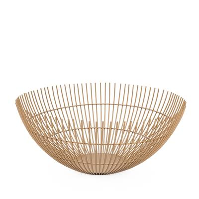 Golden Wire Decorative Bowl