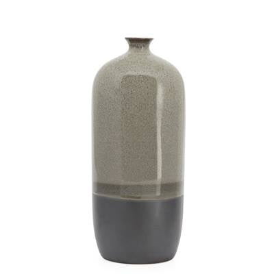 Lapis Two Tone Glaze Bottle Vase