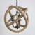 Hemp Rope and Metal Pendant Lamp
