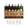 Wooden Hanging Wine Rack