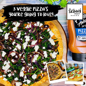 3 Veggie Pizzas you're going to LOVE! | theskinnyfoodco