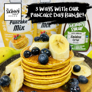 3 Ways with our Pancake Day Bundle | theskinnyfoodco