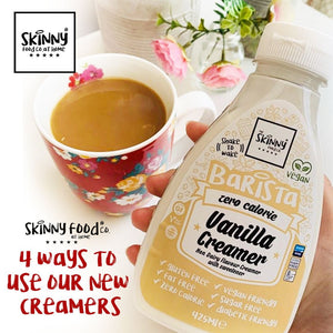 4 Ways To Use Our New Creamers | theskinnyfoodco