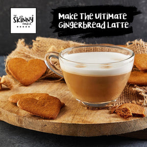 BLOG - HOW TO MAKE THE ULTIMATE GINGERBREAD LATTE AT HOME | theskinnyfoodco