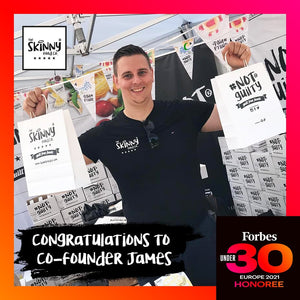 FORBES UNDER 30: JAMES WHITING | theskinnyfoodco