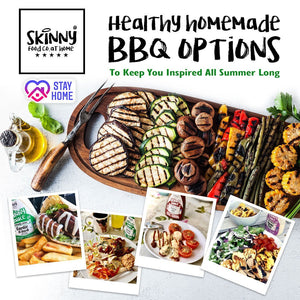Healthy Homemade BBQ Options To Keep You Inspired All Summer Long | theskinnyfoodco